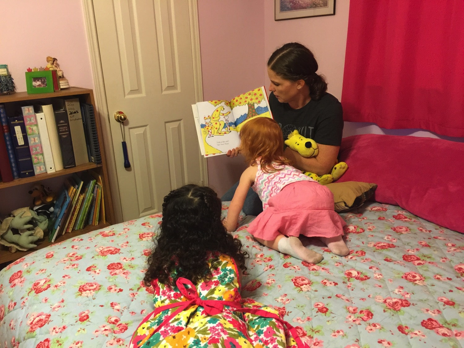 mommy and me reading with cousins.jpg