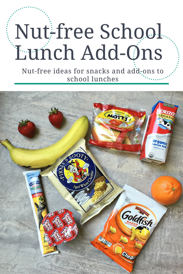 nut-free school lunch add-ons