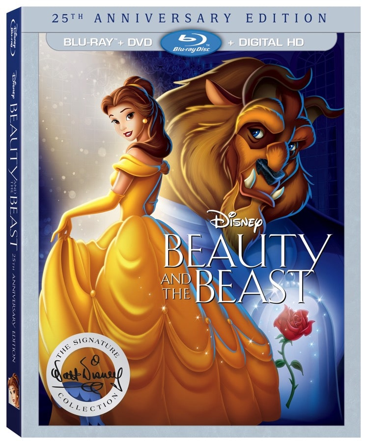BeautyAndTheBeast201625th AnniversaryEditionBlu ray