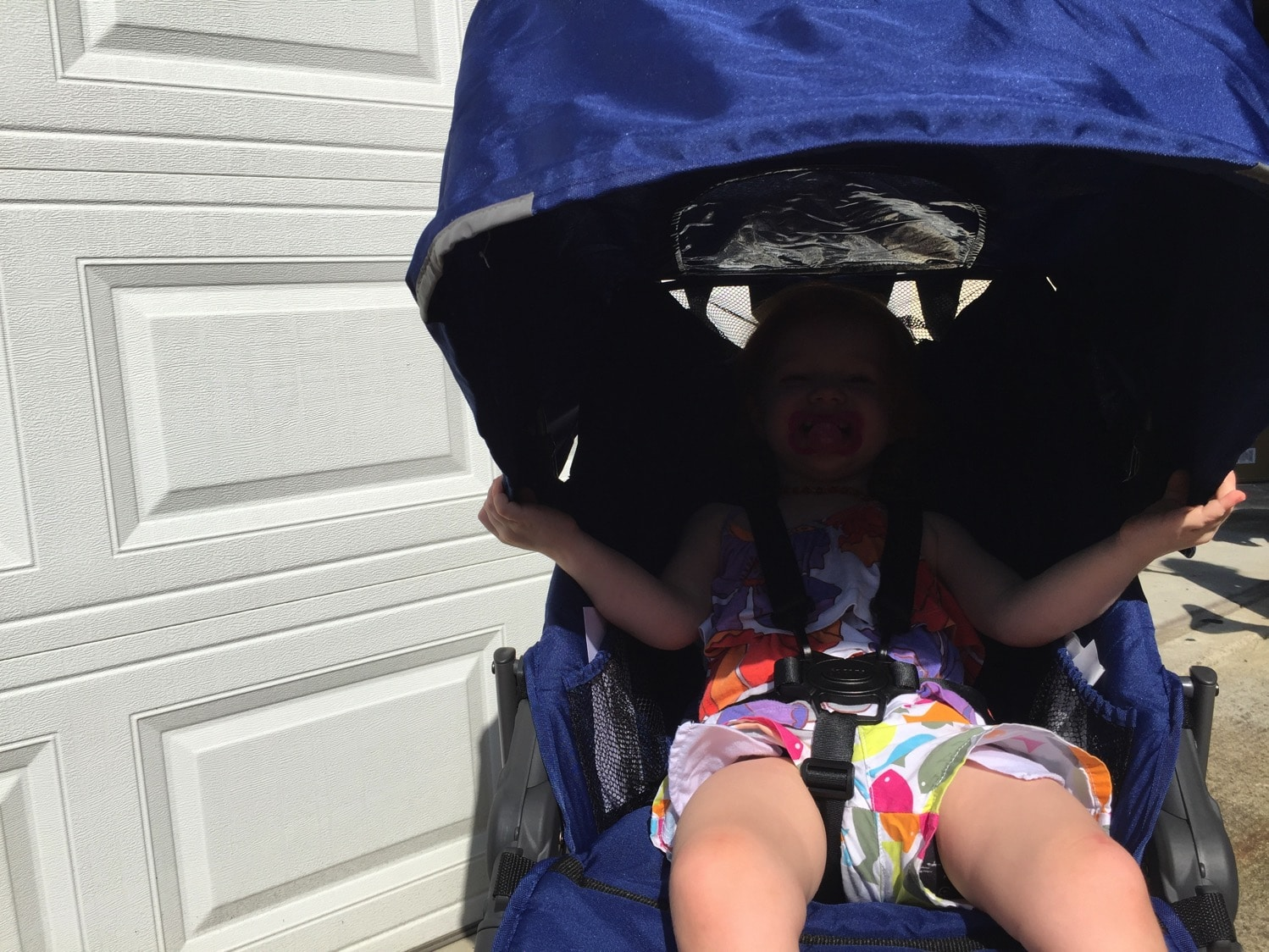 Joovy Zoom 360 ultralight review sun shade