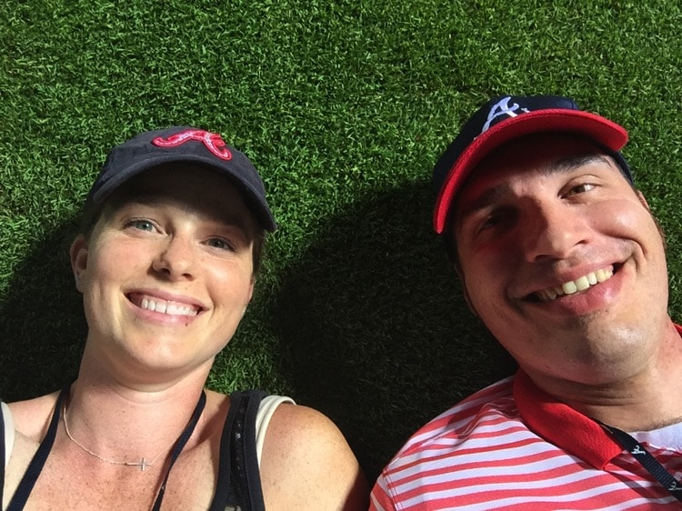 date night at the baseball field
