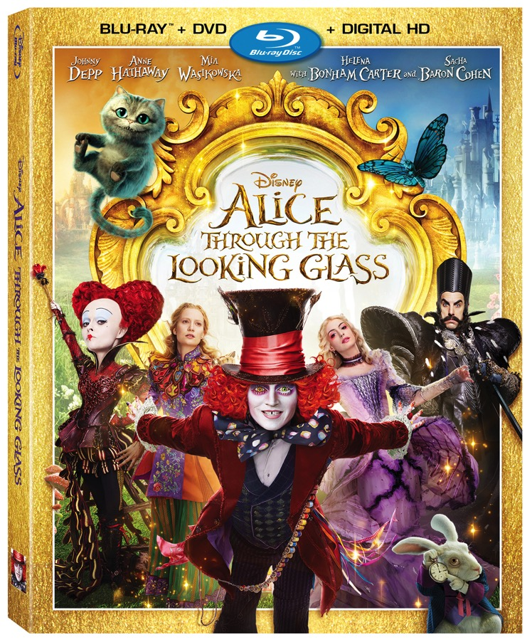 Alice Through The Looking Glass Bluray