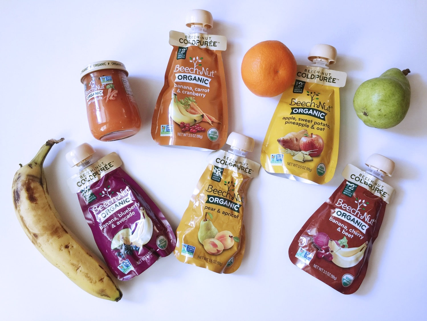 Beech-Nut Cold Pressed Pouches