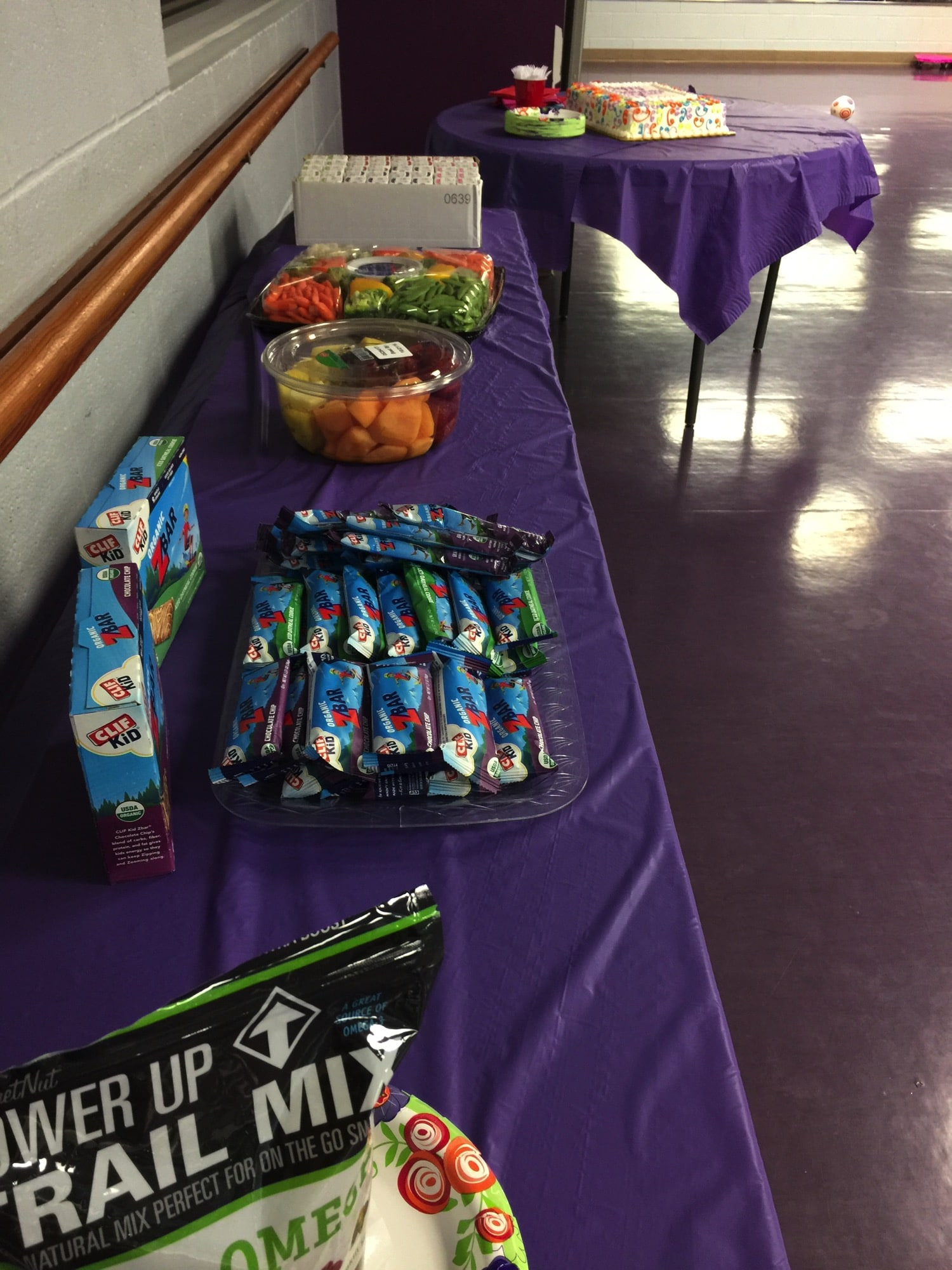 zumba party food