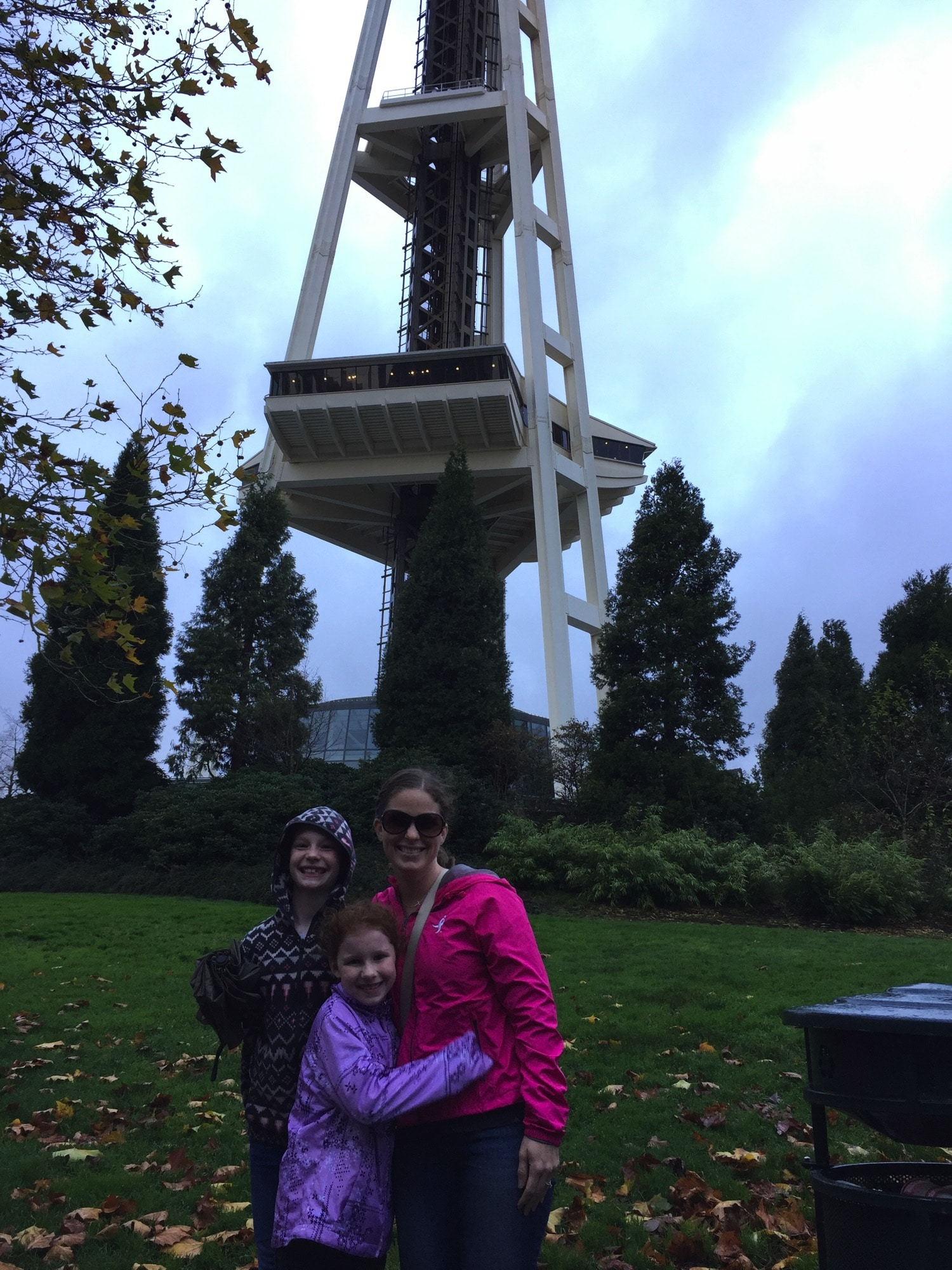 At the Space Needle