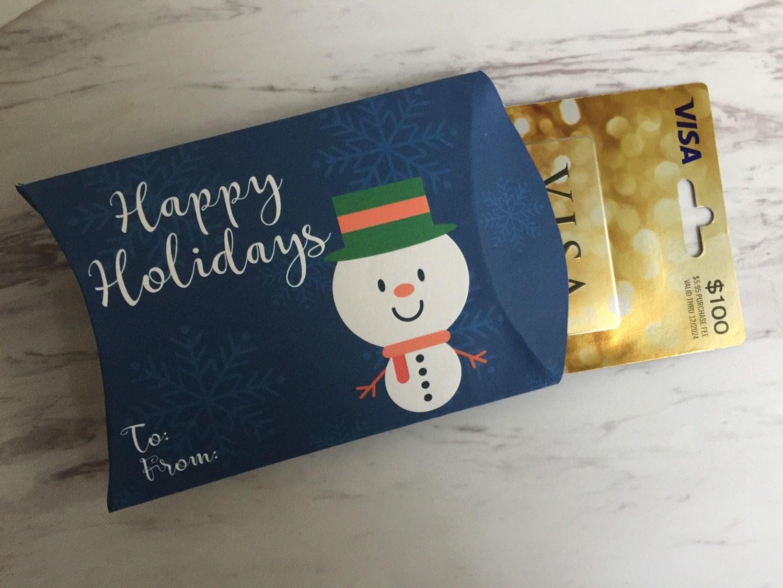 Free Christmas Holiday Gift Pillow Printables