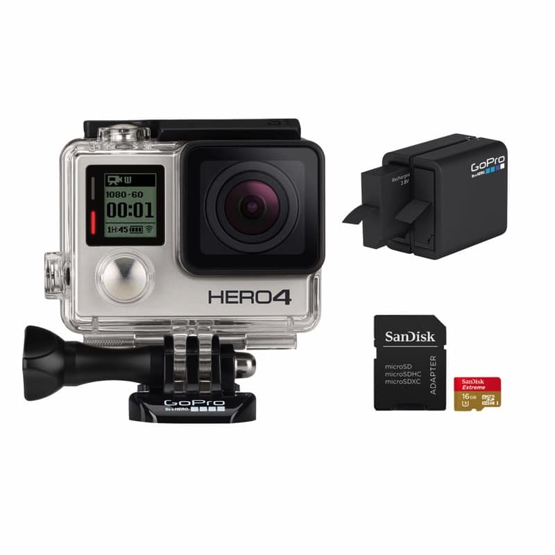 GoPro HERO4 Essential Camera Bundle BJs Wholesale Club