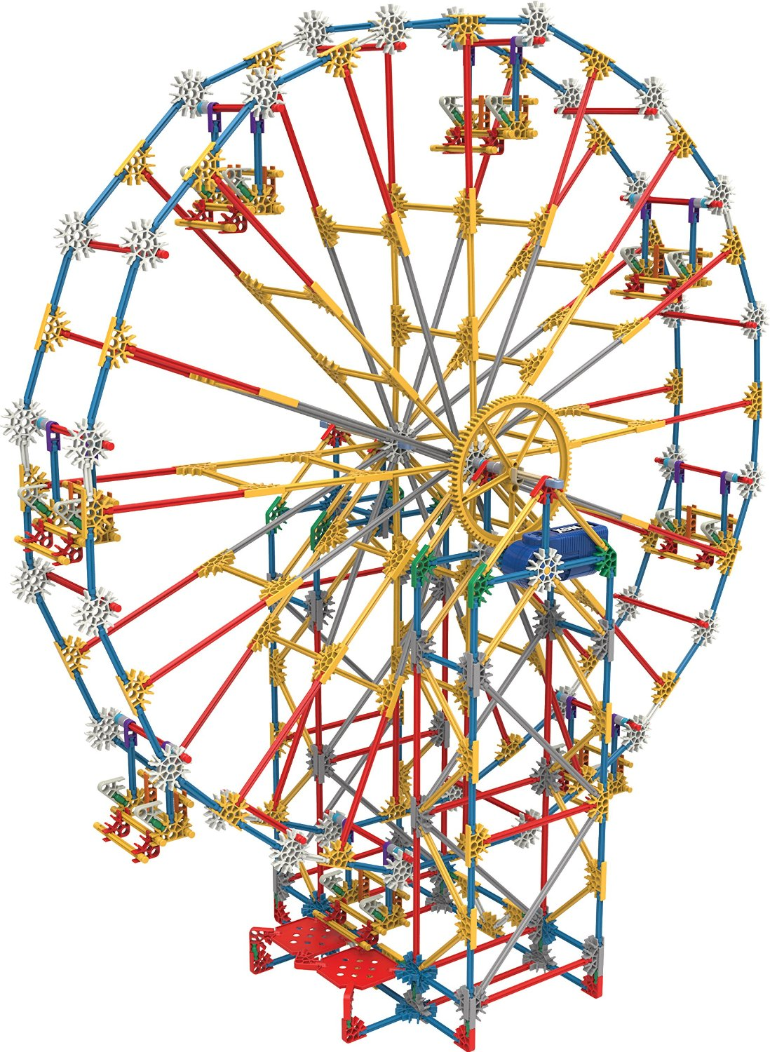 K'NEX Thrill Rides 3-in-1 Classic Amusement Park Building Set: