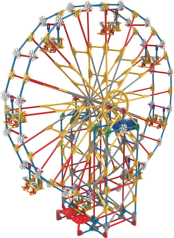 K'NEX Thrill Rides 3-in-1 Classic Amusement Park Building Set: