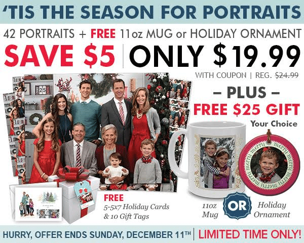 Portrait Innovations Holiday Deal