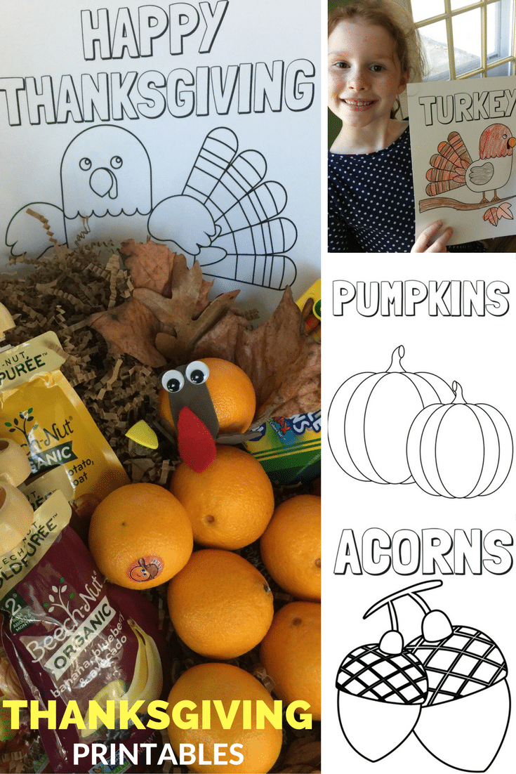 THANKSGIVING printable pin