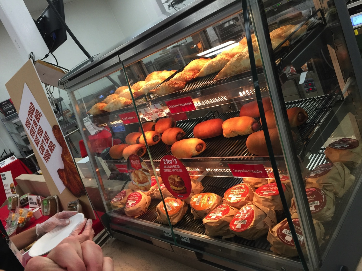 kolaches and hot items