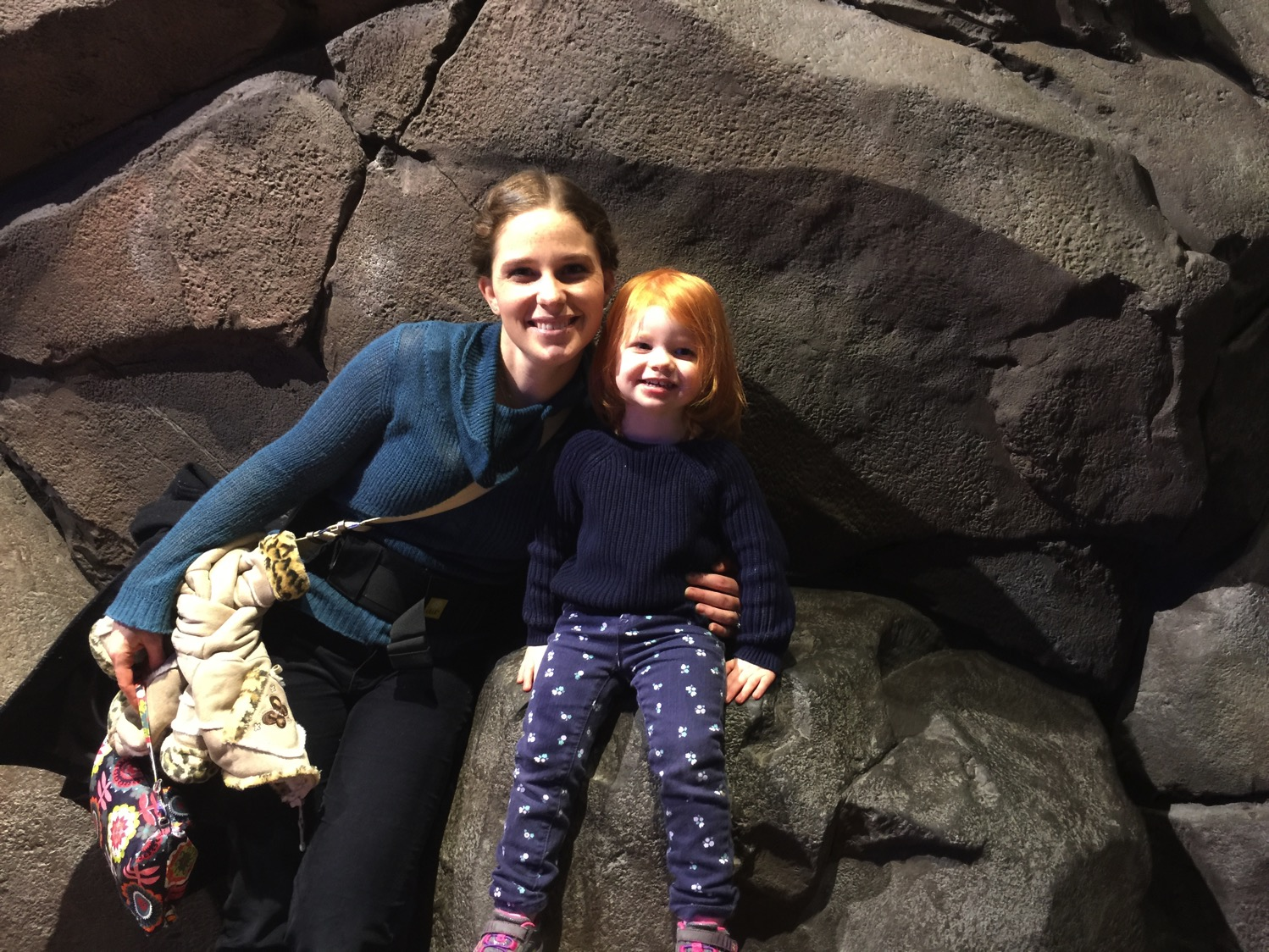 Mommy and Me Monday at the Aquarium
