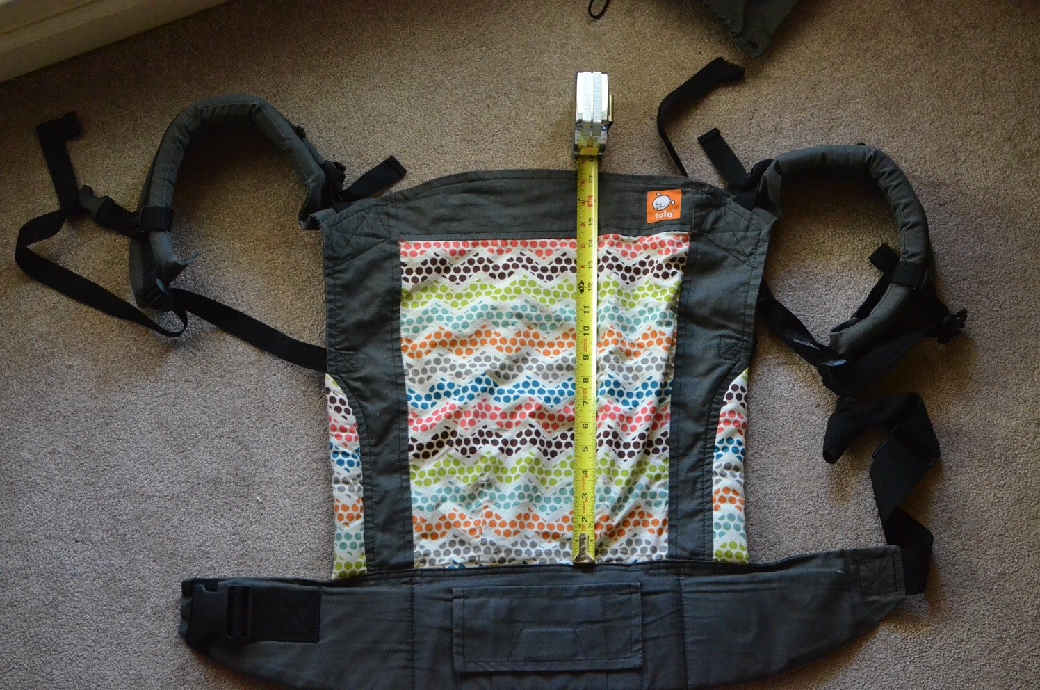 Tula Toddler Carrier panel height