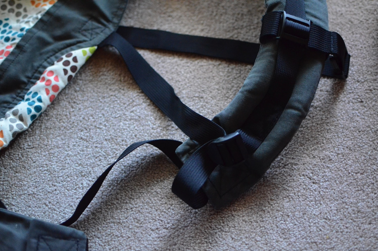 Tula Toddler Carrier straps