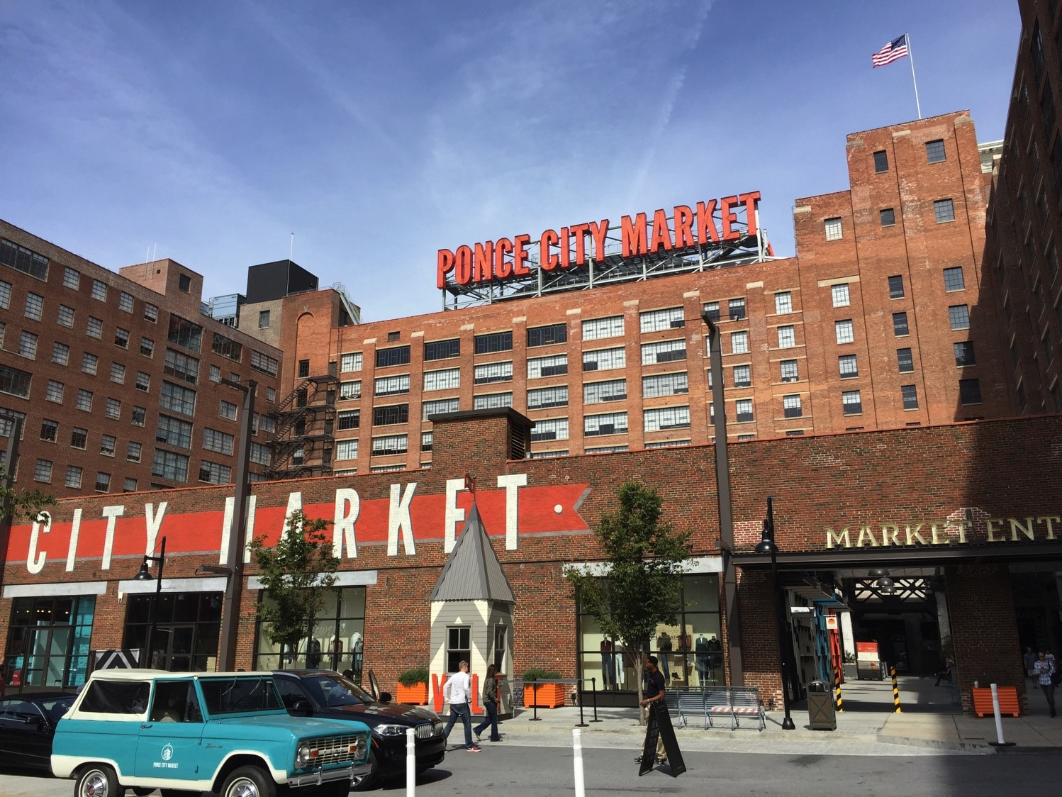 atlanta tours | ponce city market