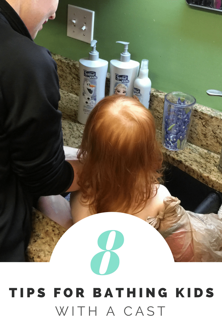 Tips for bathing your kid with a cast • Really, Are You