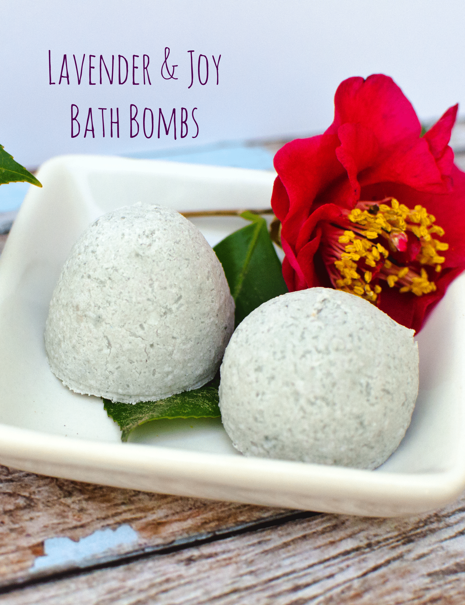 Fragrant Fizzy Bath bombs