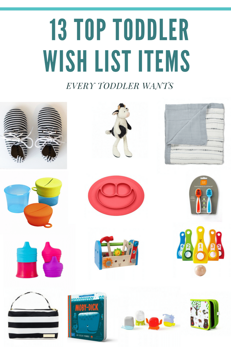 13 Top Toddler Wish List Items Every Toddler Wants
