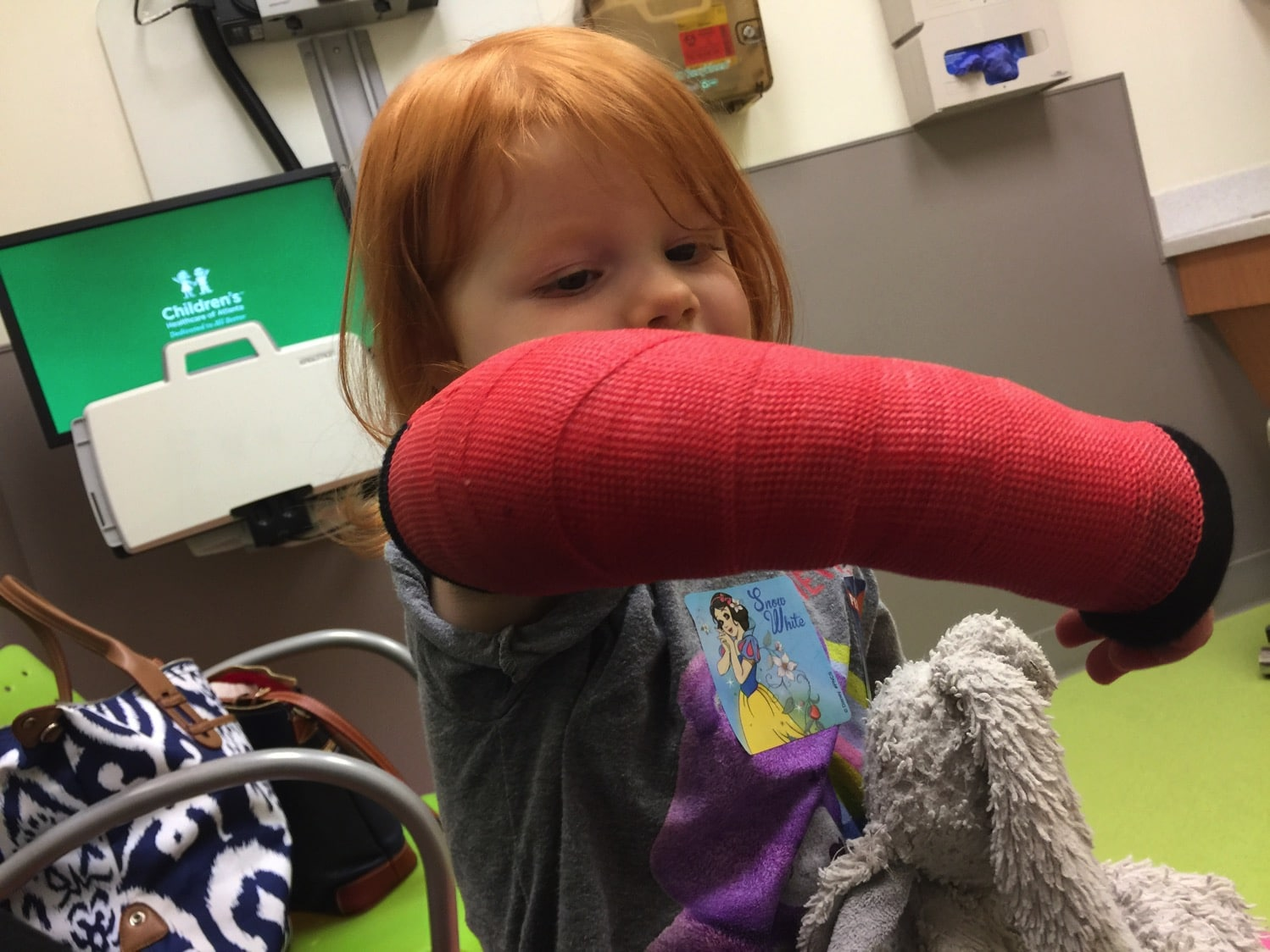 and now her cast