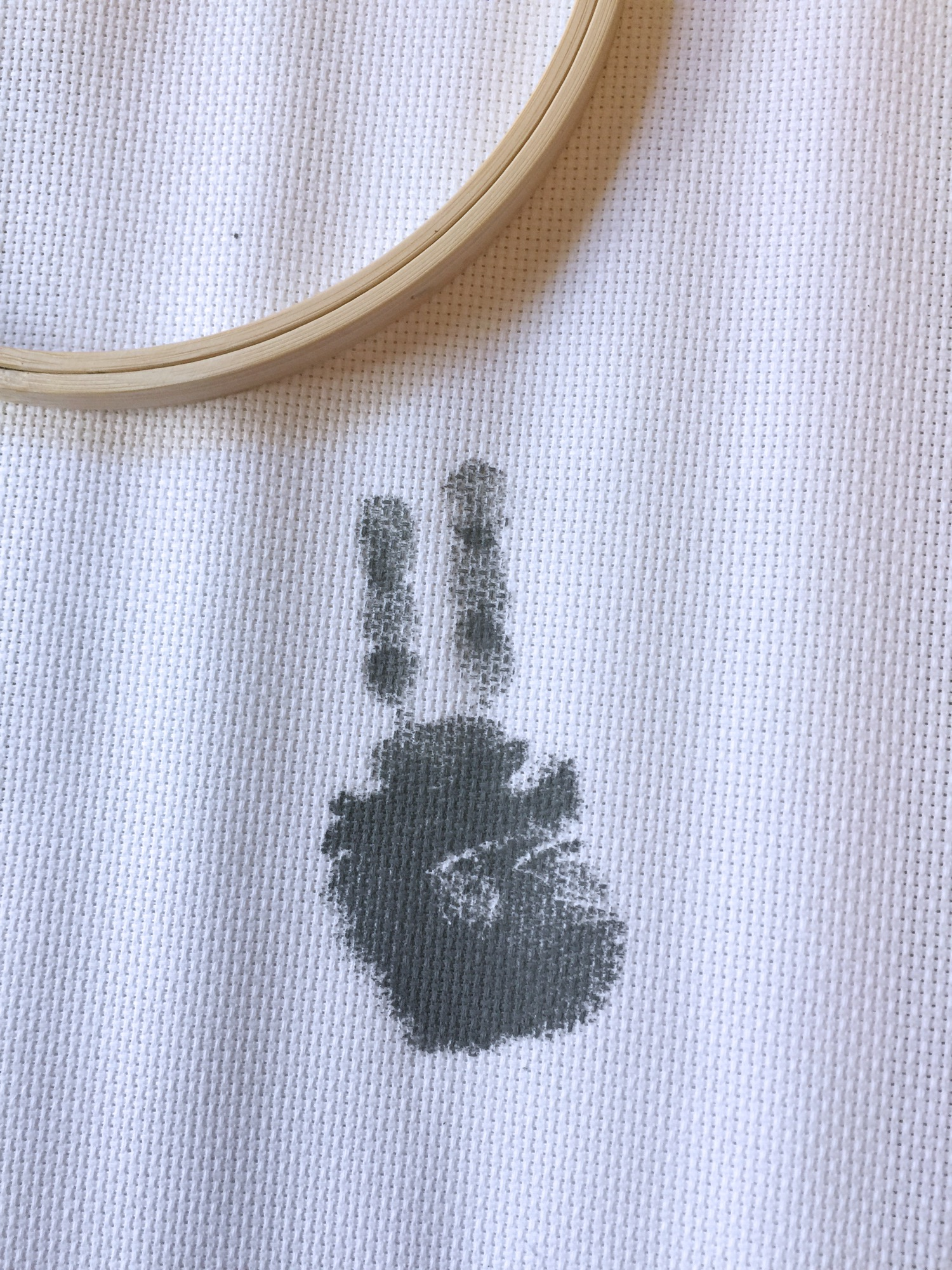 Just handprint