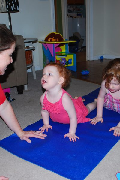 yoga with kids