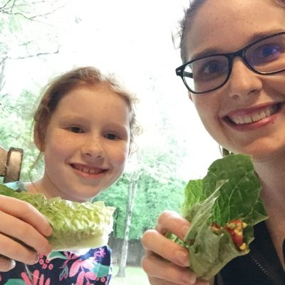 Gluten-free Dairy-Free Southwest BLT Lettuce Wraps | Mommy and Me Monday | 348th ed