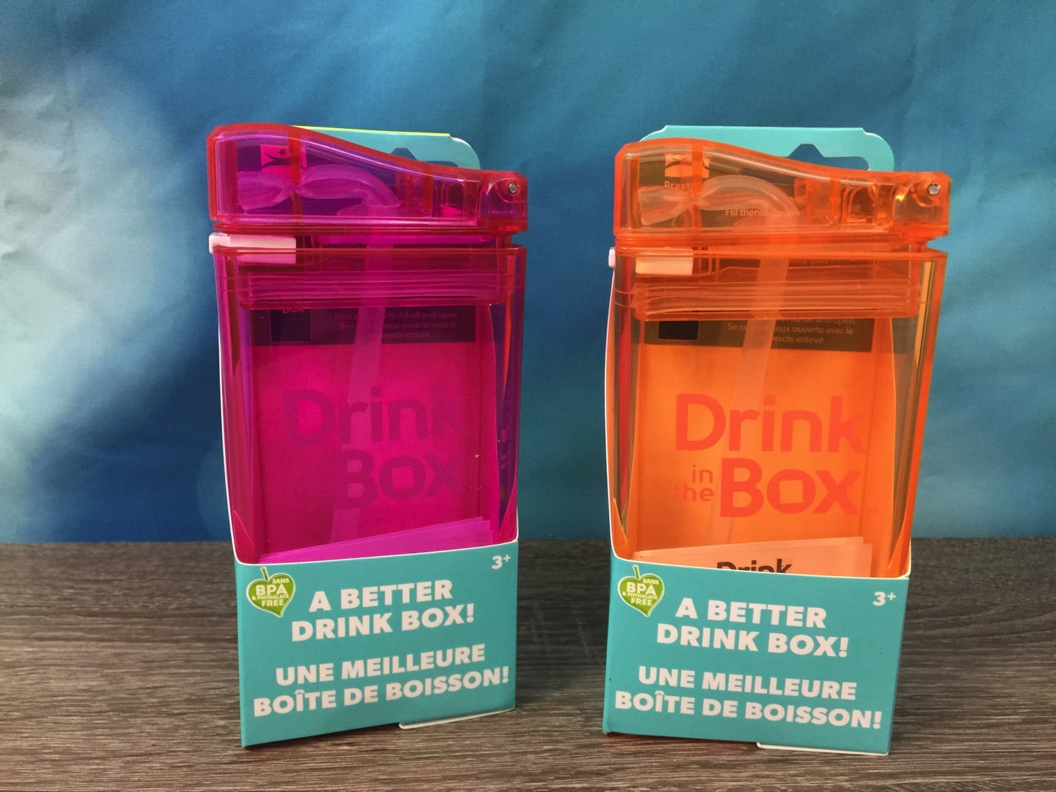 Drink Box Plastic juice boxes