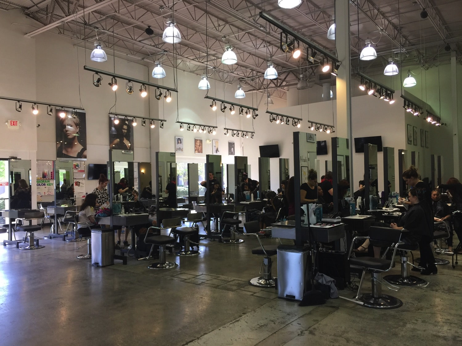 Mom day of pampering at Paul Mitchell Esani