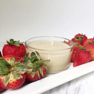 Easy and Quick 3 Ingredient Fruit Dip