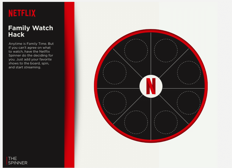 Netflix Family Watch Hack Spinner