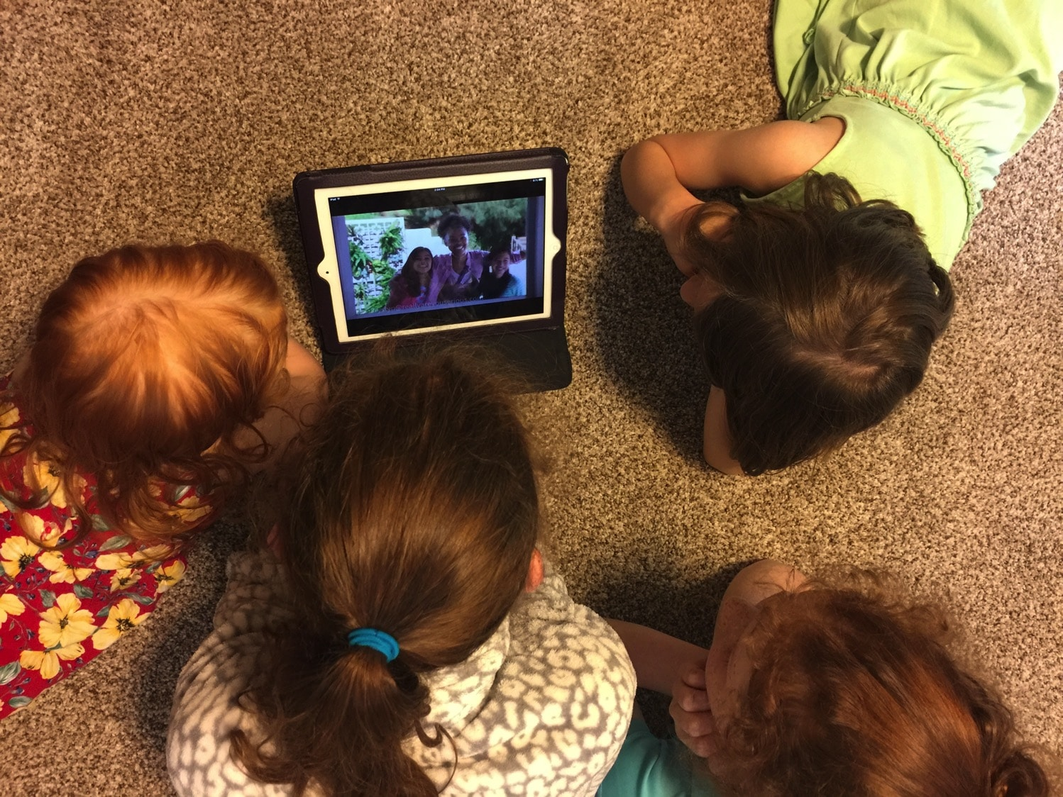 watching american girl on amazon together