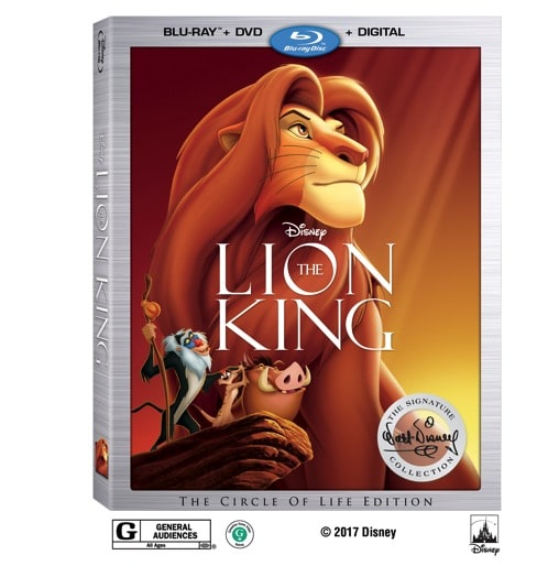 Lion King The 2017 Signature Collection Print Beauty Shots 6 75 Blu ray Combo Pack Worldwide Rev2 RAP