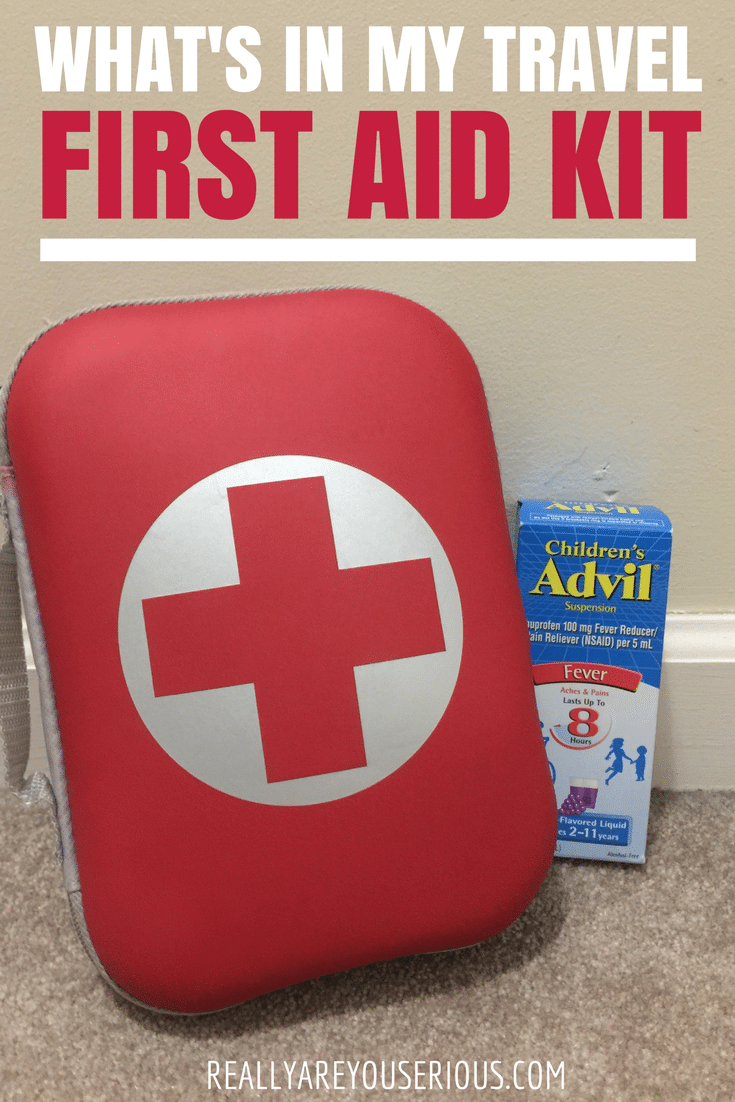 What s in my travel first aid kit