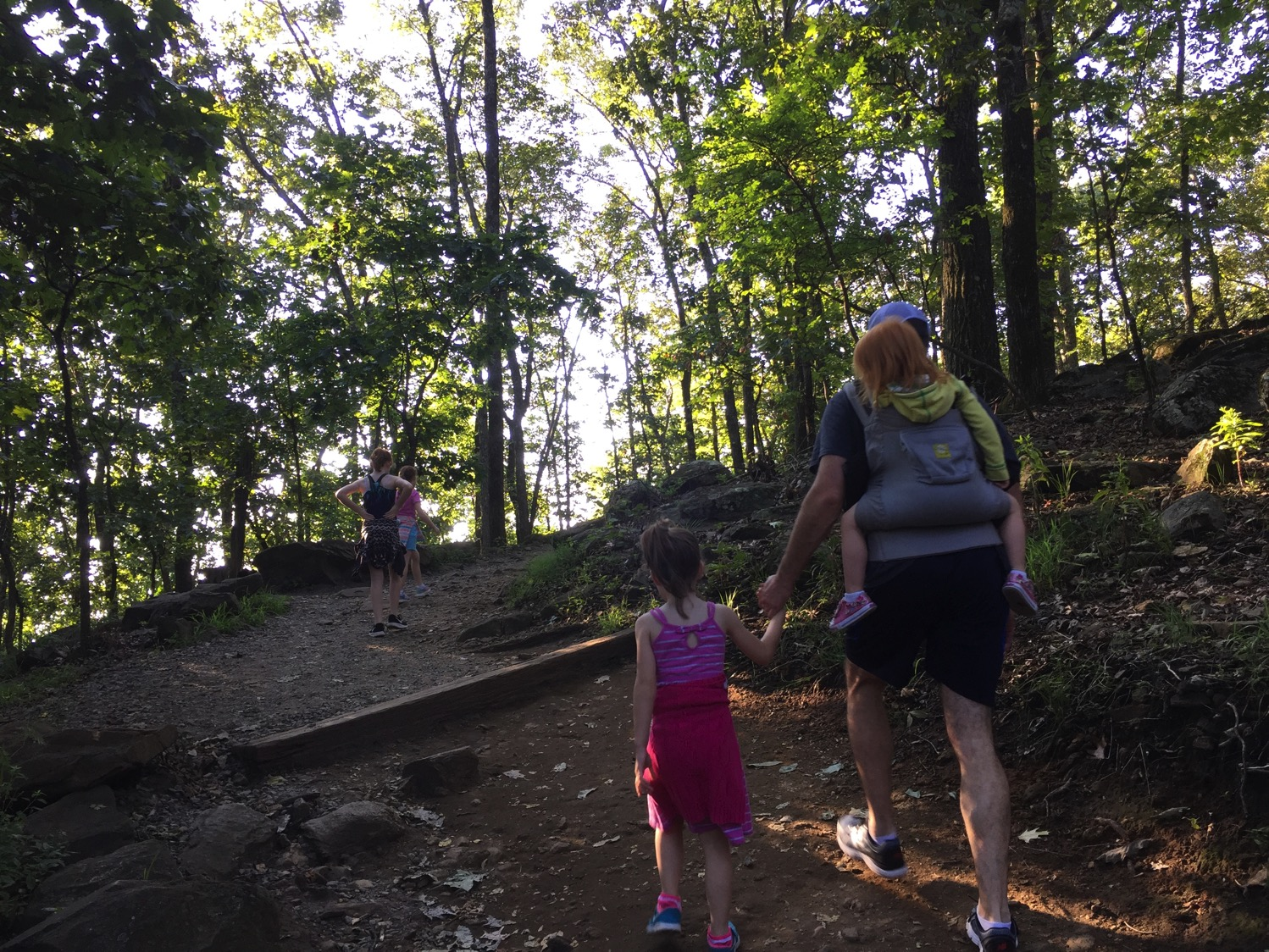 Mommy and Me Monday Kennesaw Mountain Hike