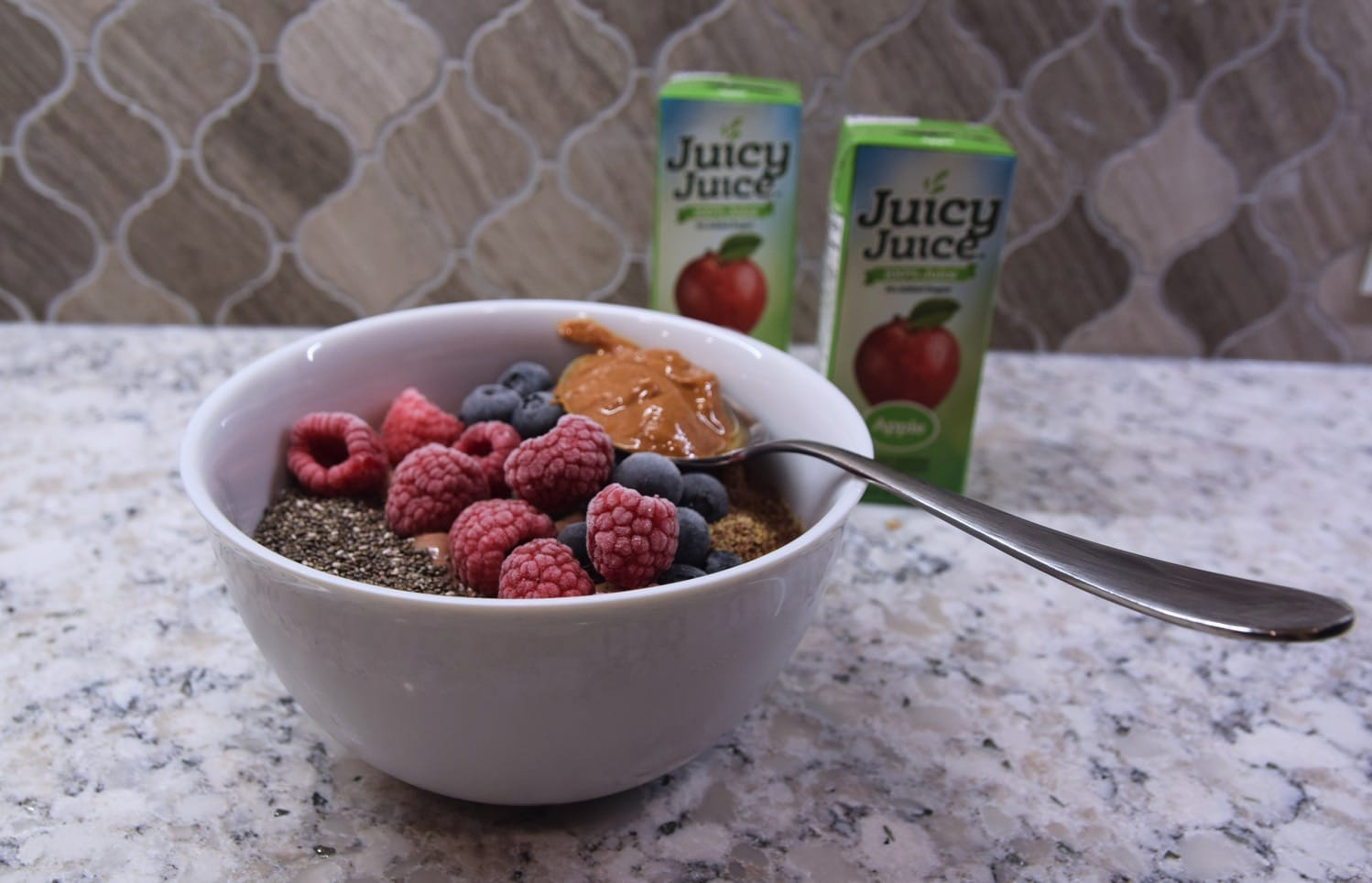 Smoothie bowl for breakfast
