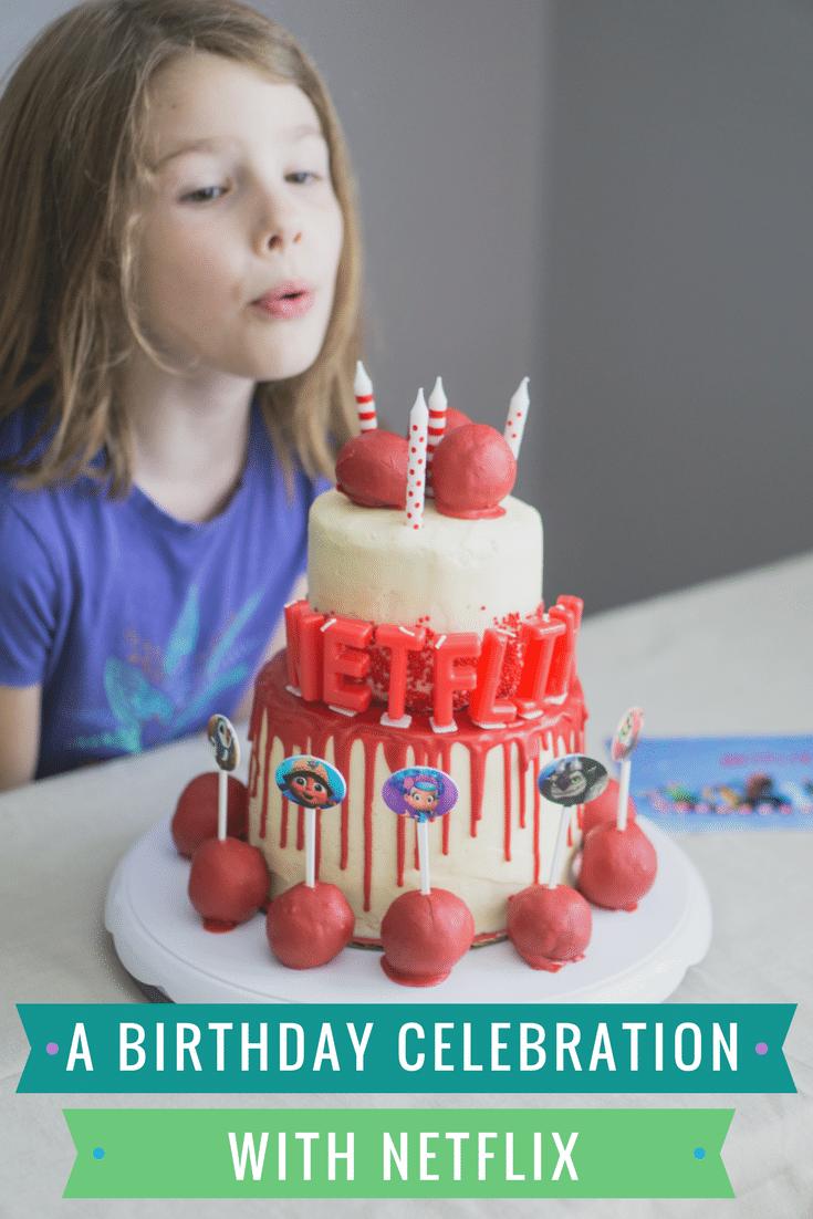 Netflix birthday celebration