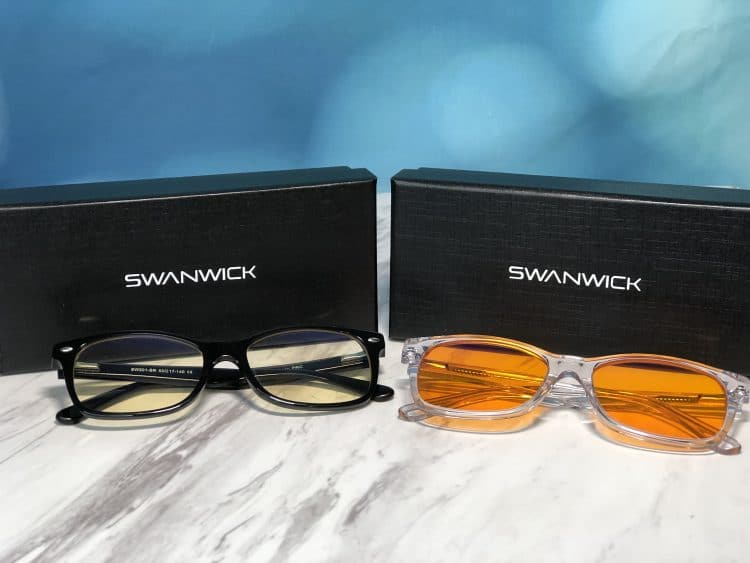 Swannies Classic - The Best Blue Light Blocking Glasses For Better Sleep Tonight