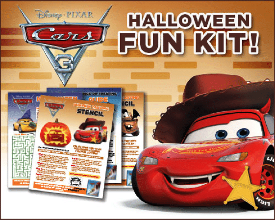 Cars 3 Halloween Fun Kit