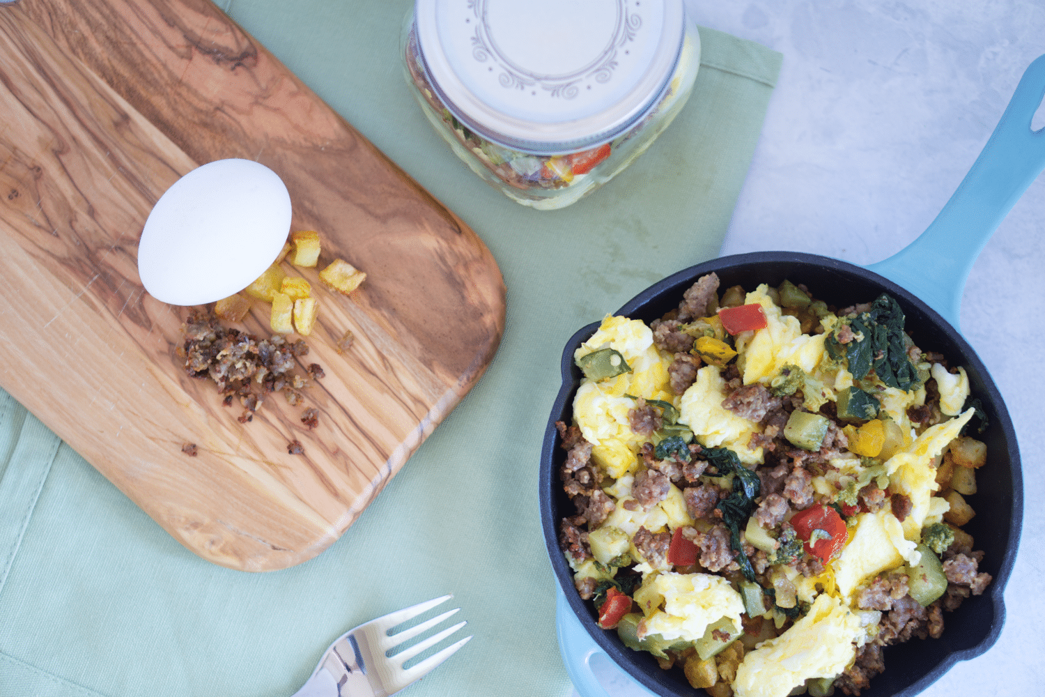 DIY Layered Breakfast Skillet With Friends