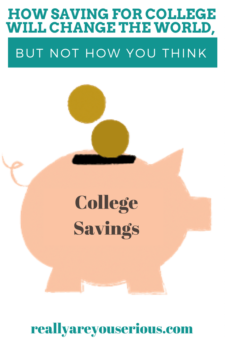 How saving for college will change the world