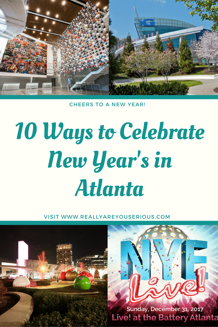 10 Ways to Celebrate New Year's in Atlanta