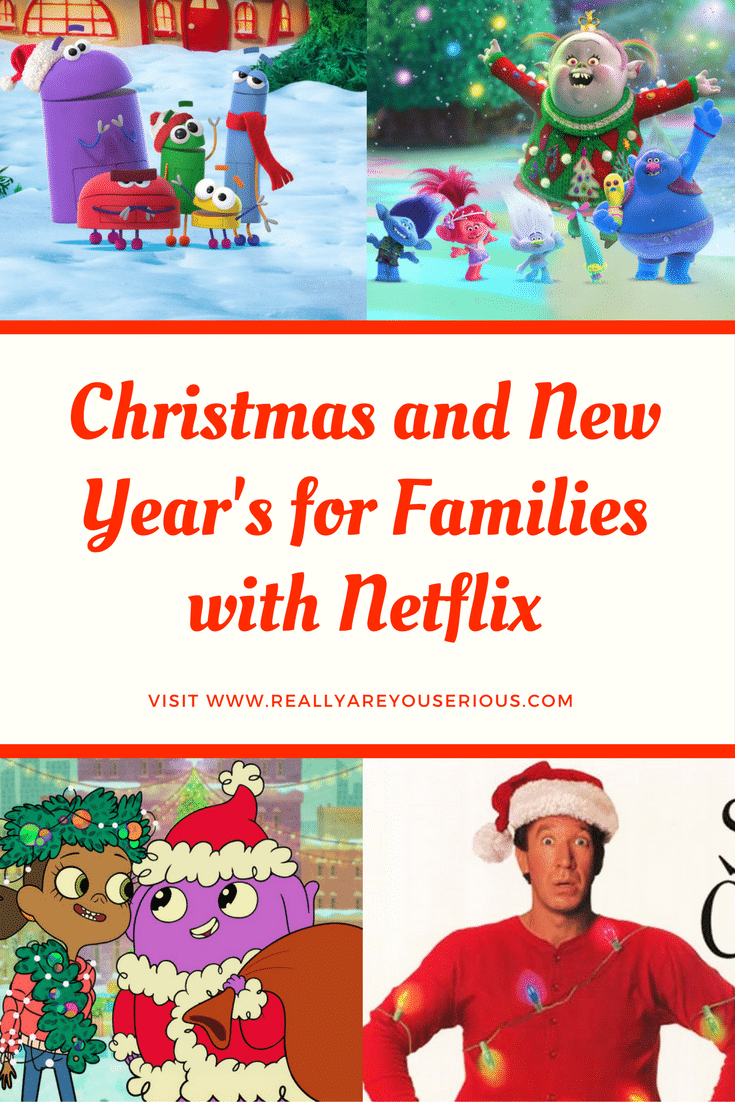Christmas and New Year's for Families with Netflix