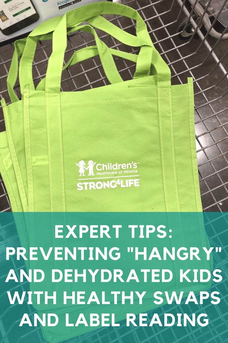 Expert Tips Preventing Hangry and Dehydrated Kids with Healthy Swaps and Label Reading