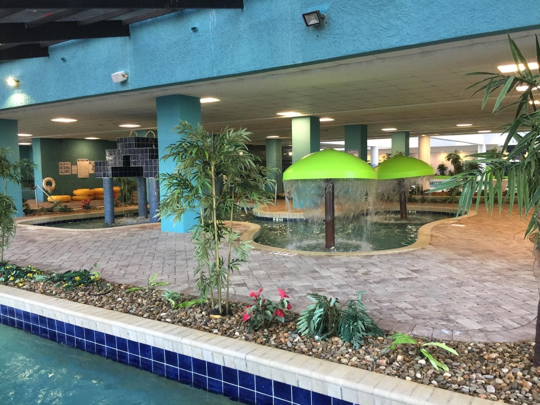 Myrtle Beach indoor water area