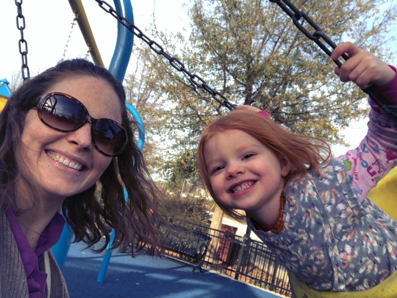 Swing for two fun