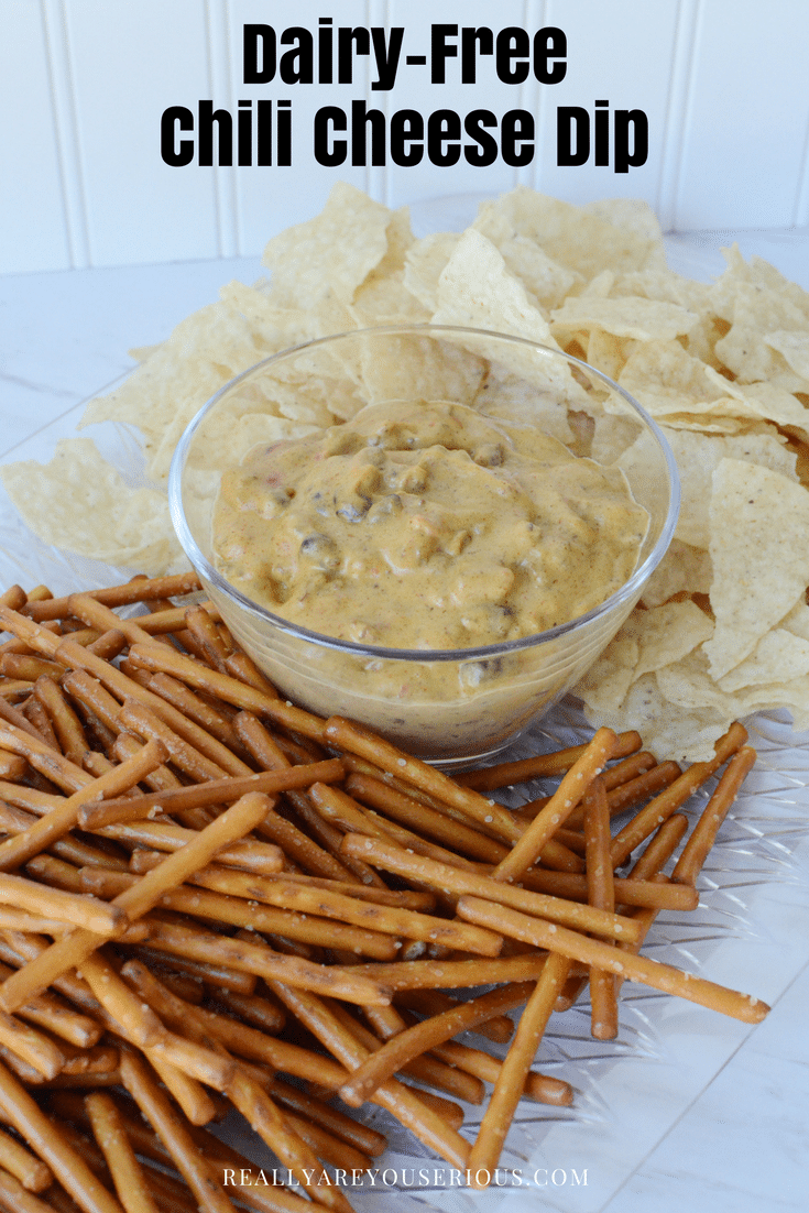 Dairy free chili cheese dip