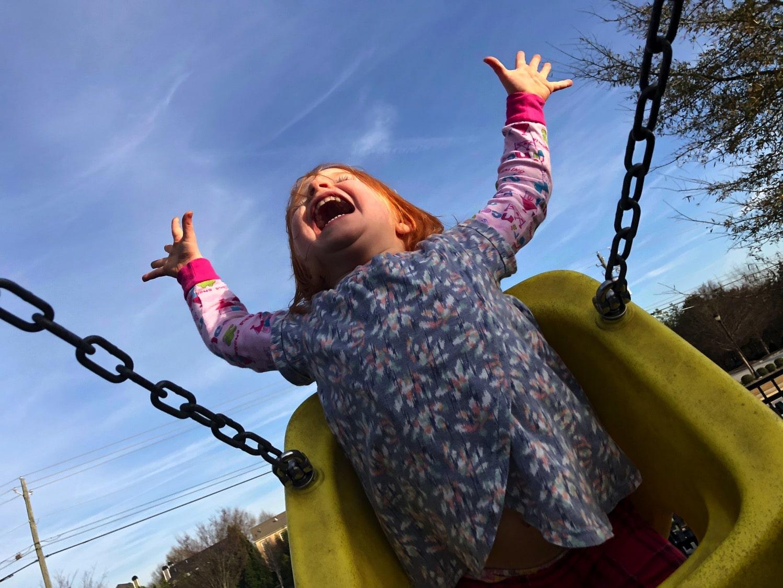 swinging joy