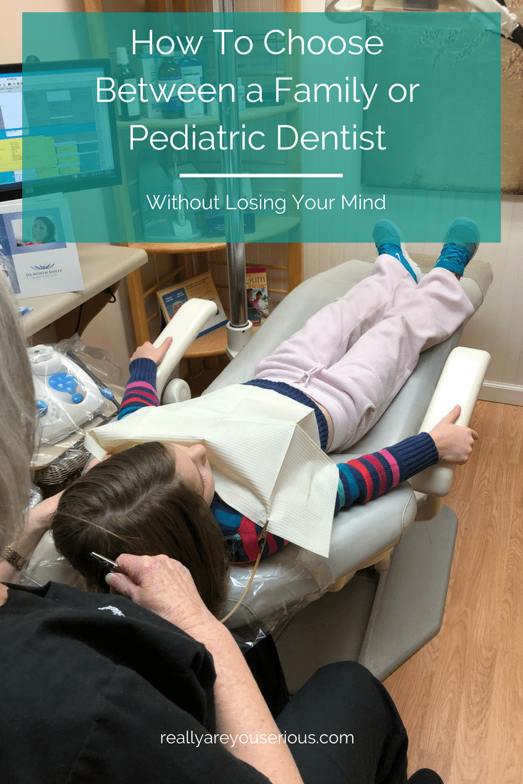 How To Choose Between a Family or Pediatric Dentist