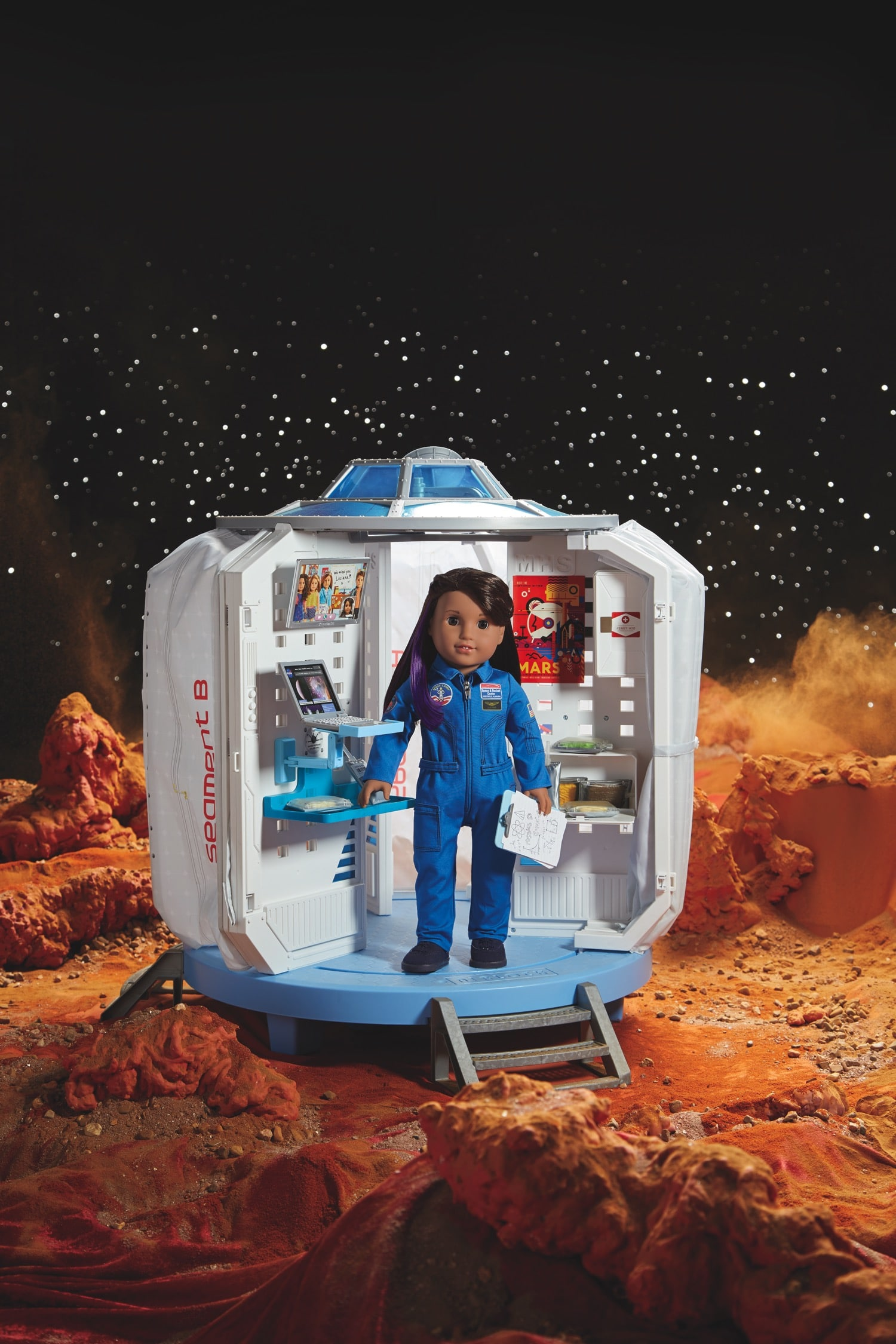 Luciana Vega American Girl Doll of The Year Mars Habitat